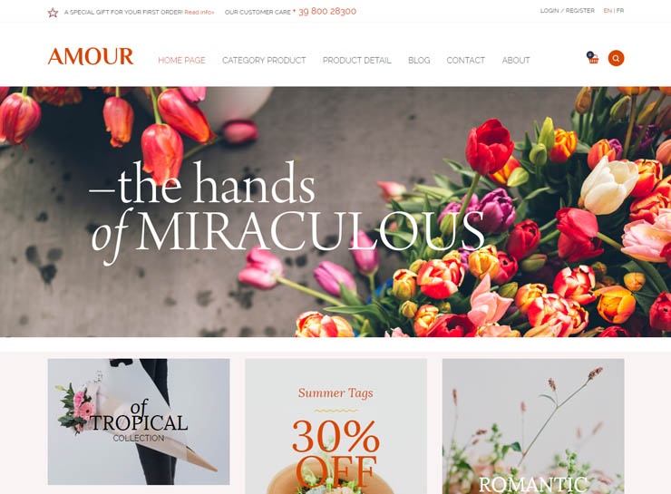 25 Best Flower Shop Wordpress Themes 2017