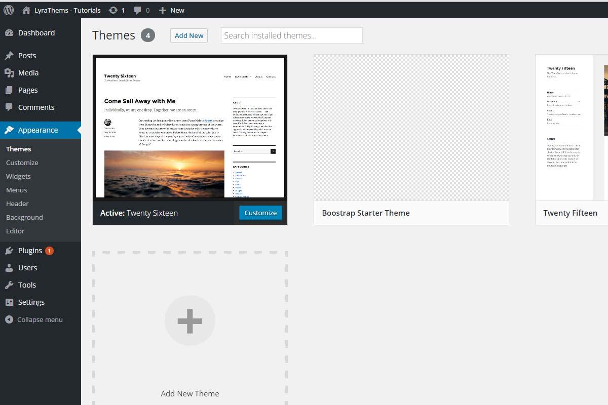 How To Develop A Wordpress Theme Using Bootstrap Part 1
