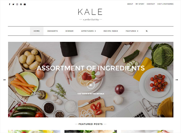15 premium feature packed wordpress food blog themes 2017 food blog theme forumfinder Images