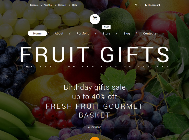Fruit Gifts WooCommerce Theme
