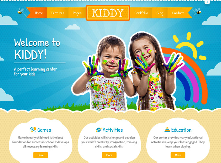 Child Care WordPress Themes